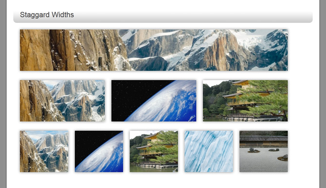 Click to Enlarge :: Staggered images have to be calculated using the methods described below